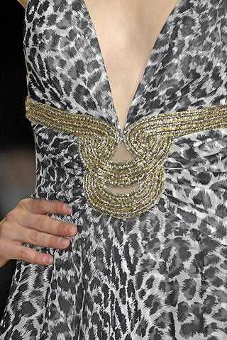 Jenny Packham Spring 2008 Ready-to-wear Detail - 002