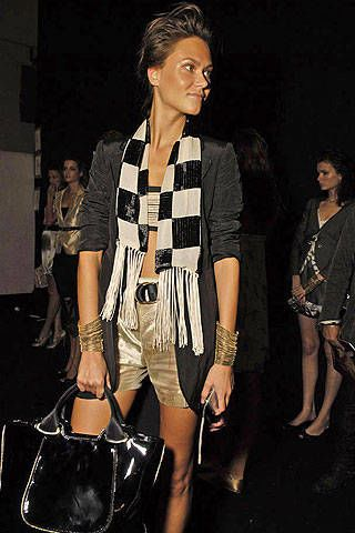 Emporio Armani Spring 2008 Ready-to-wear Backstage - 002