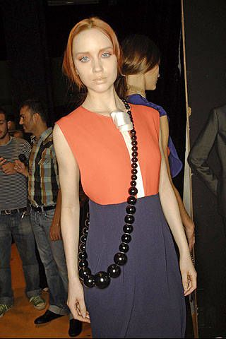 Amuleti J Spring 2008 Ready-to-wear Backstage - 002