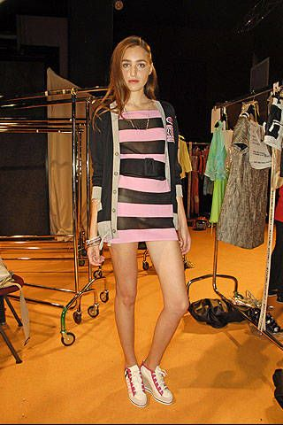 Frankie Morello Spring 2008 Ready-to-wear Backstage - 003