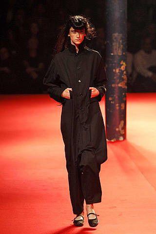 Yohji Yamamoto Spring 2008 Ready-to-wear Collections - 002