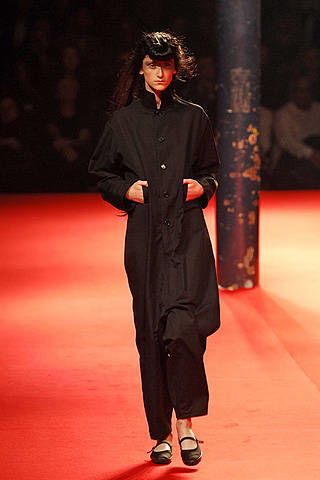 Yohji Yamamoto Spring 2008 Ready-to-wear Collections - 002