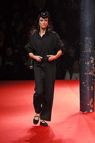 Yohji Yamamoto Spring 2008 Ready-to-wear Collections - 003