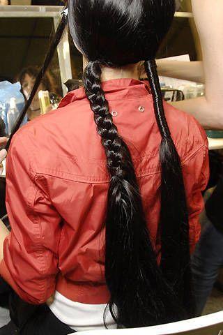 Yohji Yamamoto Spring 2008 Ready-to-wear Backstage - 002