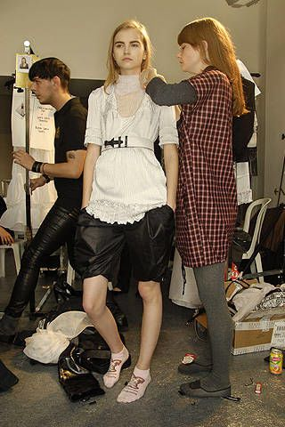 Sophia Kokosalaki Spring 2008 Ready&#45&#x3B;to&#45&#x3B;wear Backstage &#45&#x3B; 002