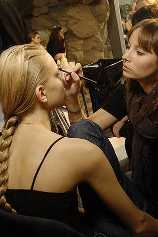 Sophia Kokosalaki Spring 2008 Ready&#45&#x3B;to&#45&#x3B;wear Backstage &#45&#x3B; 003