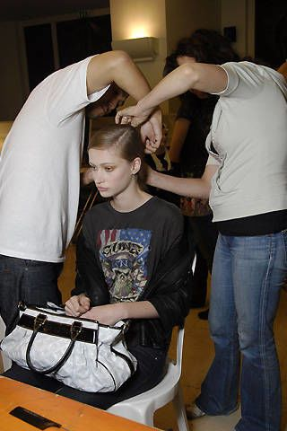 Wunderkind Spring 2008 Ready-to-wear Backstage - 002