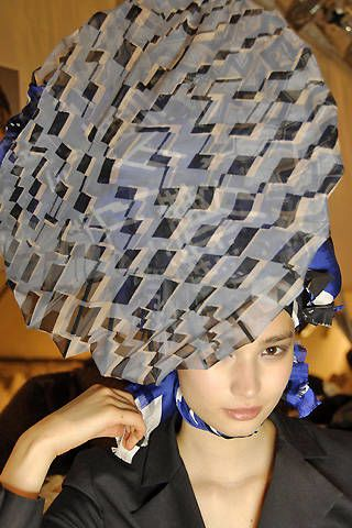 Christian Lacroix Spring 2008 Ready-to-wear Backstage - 003