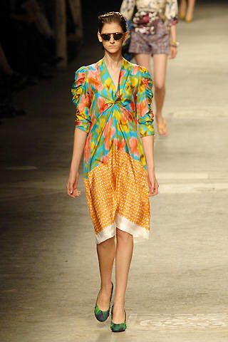 Dries Van Noten Spring 2008 Ready-to-wear Collections - 002