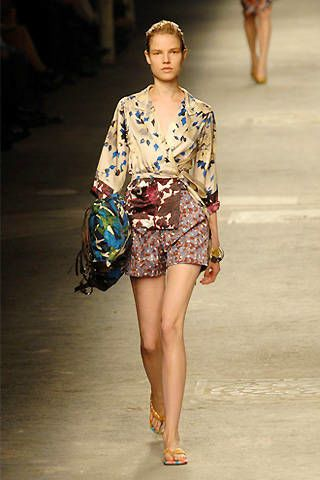 Dries Van Noten Spring 2008 Ready-to-wear Collections - 003