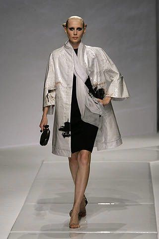 Chado Ralph Rucci Spring 2008 Ready-to-wear Collections - 002