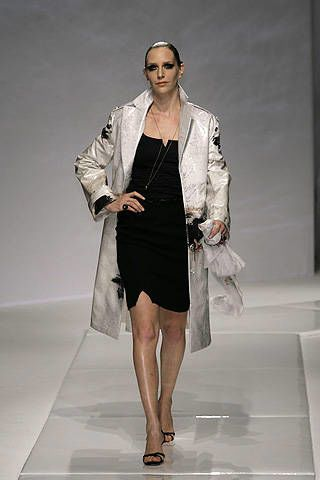 Chado Ralph Rucci Spring 2008 Ready-to-wear Collections - 003