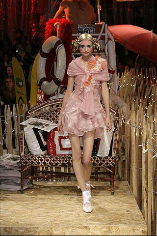 John Galliano Spring 2008 Ready-to-wear Collections - 003