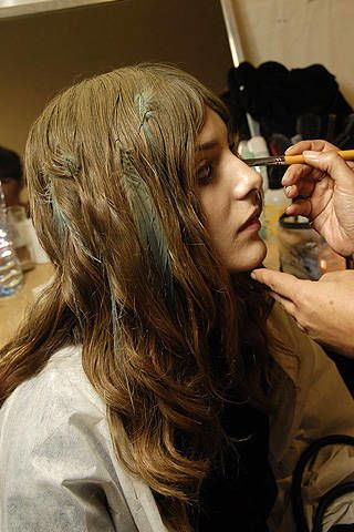 Nina Ricci Spring 2008 Ready-to-wear Backstage - 003