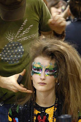 Christian Dior Spring 2008 Haute Couture Backstage &#45&#x3B; 003