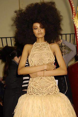 Franck Sorbier Spring 2008 Haute Couture Backstage - 003