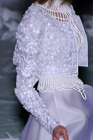 Franck Sorbier Spring 2008 Haute Couture Detail - 001