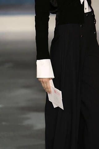 Charles Nolan Fall 2008 Ready-to-wear Detail - 003