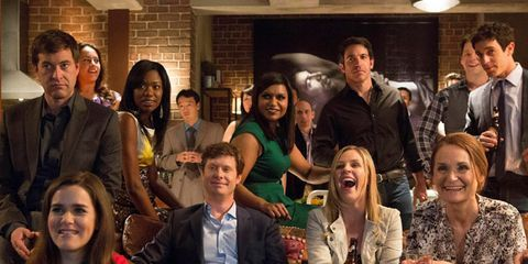 Mindy Kaling Interview On Set At The Mindy Project