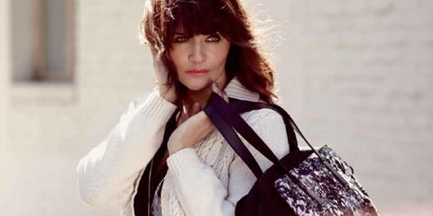 Read All About It: An Exclusive Look at Helena Christensen's Kipling Campaign; Beyoncé Keeps Us Guessing