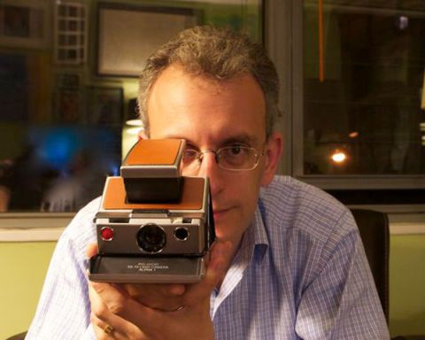 Polaroid Camera Urban Outfitters Uk : Christopher bonanos interview instant the story of polaroid book