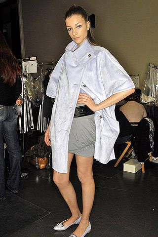 Emporio Armani Fall 2007 Ready-to-wear Backstage - 001