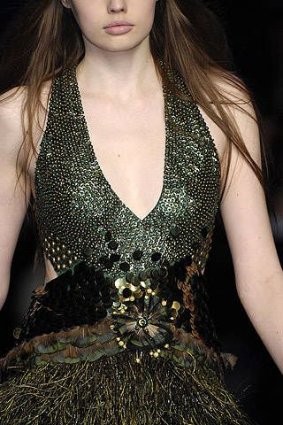 Jenny Packham Fall 2007 Ready&#45&#x3B;to&#45&#x3B;wear Detail &#45&#x3B; 001