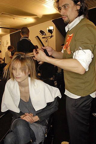 Trussardi Fall 2007 Ready-to-wear Backstage - 001