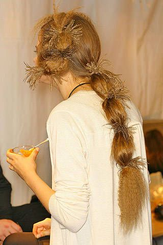 Christian Lacroix Fall 2007 Ready-to-wear Backstage - 001