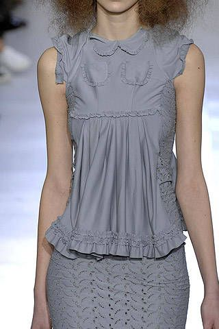 Comme des Gar&#195&#x3B;&#167&#x3B;on Fall 2007 Ready&#45&#x3B;to&#45&#x3B;wear Detail &#45&#x3B; 001