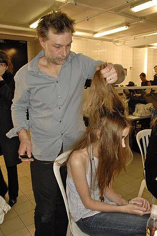Cher Michel Klein Fall 2007 Ready-to-wear Backstage - 001