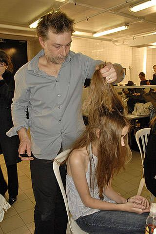 Cher Michel Klein Fall 2007 Ready-to-wear Backstage - 001