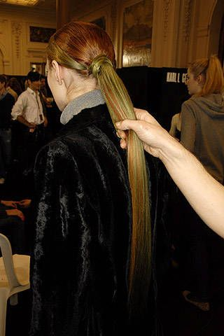 Karl Lagerfeld Fall 2007 Ready-to-wear Backstage - 001
