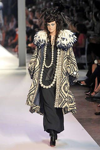 Christian Lacroix Fall 2007 Haute Couture Collections - 001