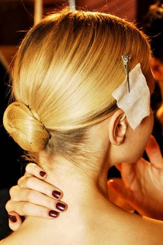 Elie Saab Fall 2007 Haute Couture Backstage - 002