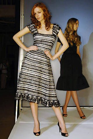 Bill Blass Spring 2008 Ready-to-wear Collections - 001