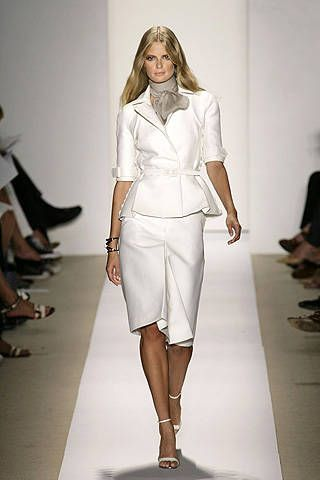 J. Mendel Spring 2008 Ready-to-wear Collections - 001