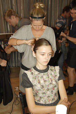 Staerk Spring 2008 Ready-to-wear Backstage - 001