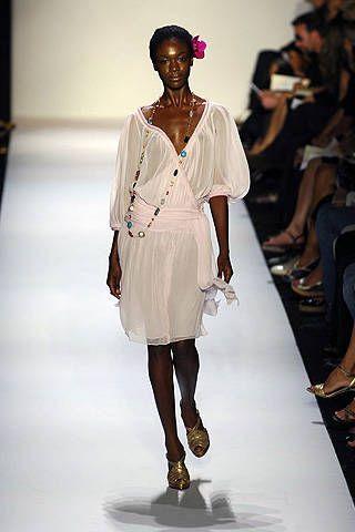 Diane von Furstenberg Spring 2008 Ready&#45&#x3B;to&#45&#x3B;wear Collections &#45&#x3B; 001