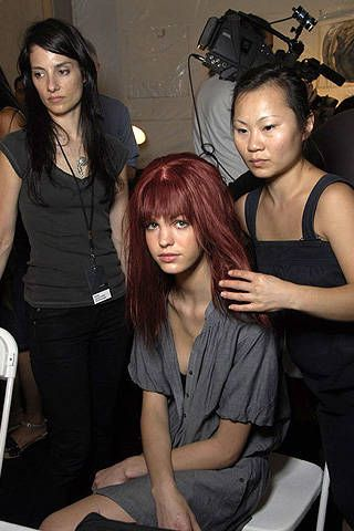 Diesel Spring 2008 Ready-to-wear Backstage - 001