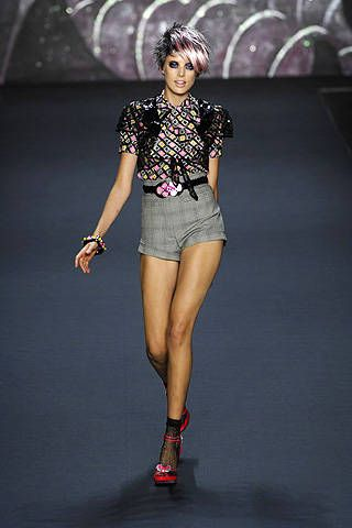 Anna Sui Spring 2008 Ready&#45&#x3B;to&#45&#x3B;wear Collections &#45&#x3B; 001