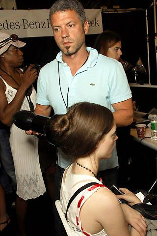 Peter Som Spring 2008 Ready-to-wear Backstage - 001