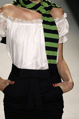 Milly by Michelle Smith Spring 2008 Ready-to-wear Detail - 001
