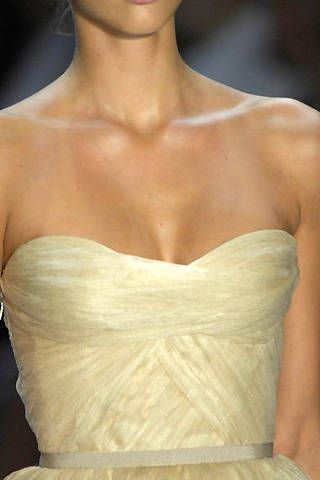 Monique Lhuillier Spring 2008 Ready-to-wear Detail - 001