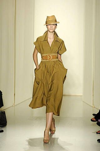 Donna Karan Spring 2008 Ready-to-wear Collections - 001
