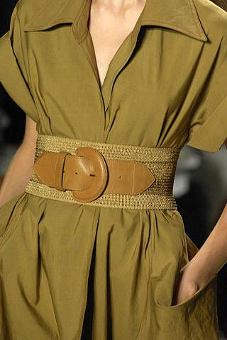 Donna Karan Spring 2008 Ready-to-wear Detail - 001