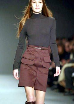 Calvin Klein Fall 2003 Ready-to-Wear Detail 0001