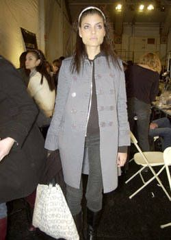 Custo Barcelona Fall 2003 Ready-to-Wear Backstage 0001
