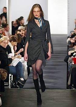 Diane von Furstenberg Fall 2003 Ready&#45&#x3B;to&#45&#x3B;Wear Collections 0001