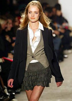 DKNY Fall 2003 Ready-to-Wear Detail 0001